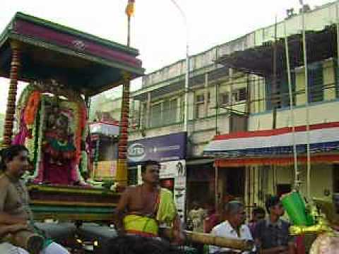 karpagambal - When Urchava Moorthies are taken on procession through four Madavidies, Gandarva doll showers flowers on the God/Goddess at differnt halts. The video is on E...