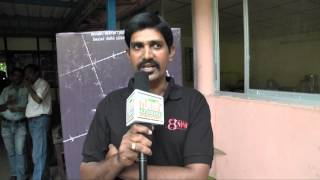 Cinematographer S.Sakthivel at 8MM Movie Press Meet