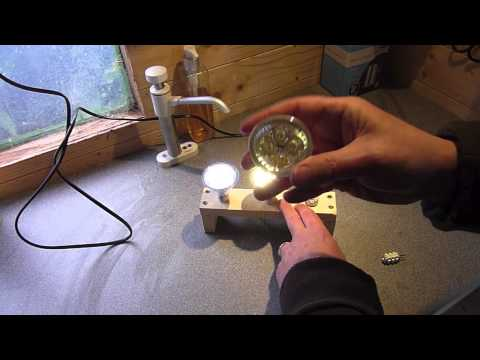 MR16 LED Bulbs on 12v solar - Tales from the Solar Shed - Episode 2
