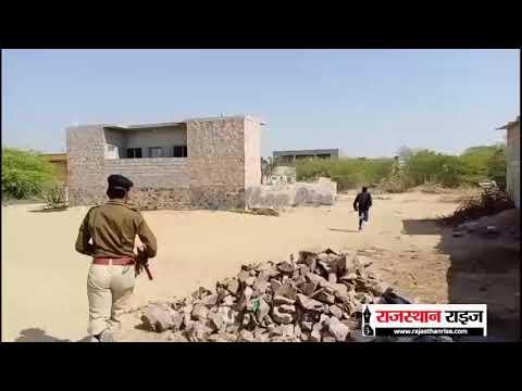 बाड़मेर शहर में तस्कर और पुलिस आमने-सामने, तस्कर फॉर्च्यूनर गाड़ी छोड़ साइकिल ले भागा