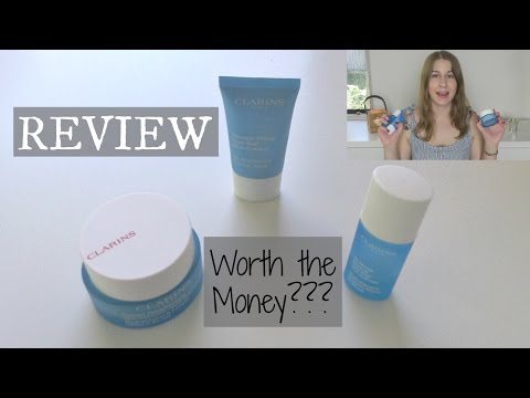 REVIEW: CLARINS HYDRAQUENCH SKINCARE | BONBONZZ