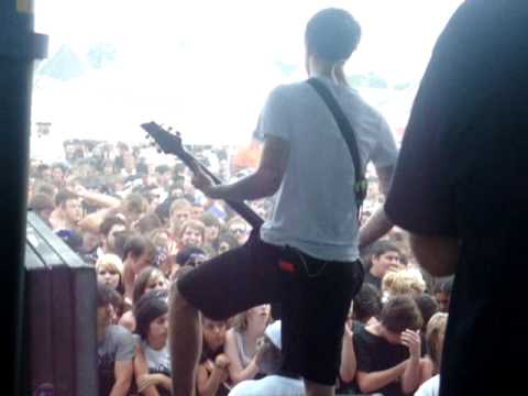 avengedxxromance - The Devil Wears Prada @Warped Tour 2009 July 3rd Houston.