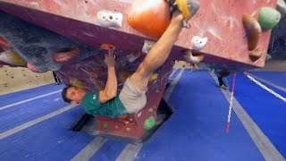 Nikken Has Met His Match, This Bouldering Session! by Eric Karlsson Bouldering