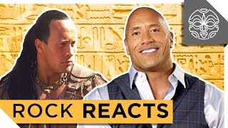 """Video The Rock Reacts To His First Leading Role In """"The Scorpion King"""": 15 YEARS LATER MP3, 3GP, MP4, WEBM, AVI, FLV Juli 2019"""