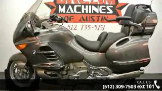 6. 2007 BMW K 1200 LT  - Dream Machines Indian Motorcycle - ...