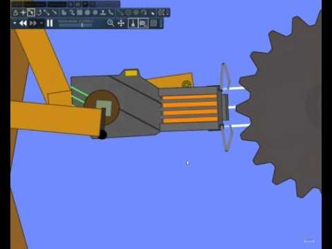 Algodoo Gravity gun