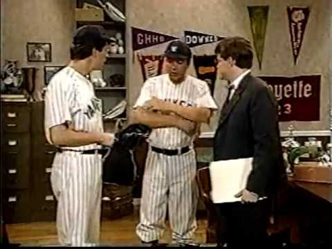 THE NEWZ (USA; 1994) Lou Gehrig gets Lou Gehrig's Disease - Tommy Blaze