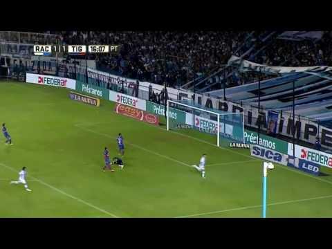 Racing 4 - Tigre 1 / Gol de Bou