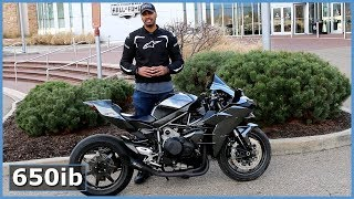 10. The Kawasaki Ninja H2 Is A Motorcycle Masterpiece!