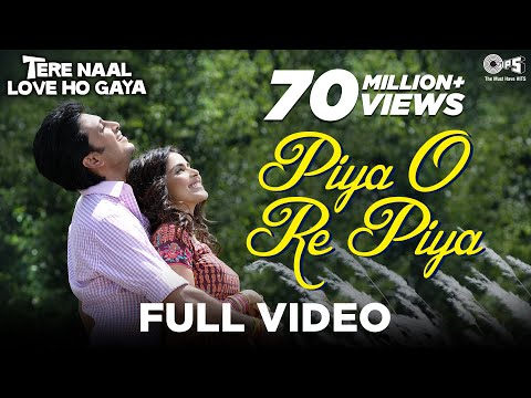 Piya O Re Piya - Video Song | Tere Naal Love Ho Gaya | Riteish & Genelia | Atif Aslam & Shreya