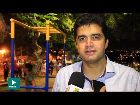 Prefeito entrega revitalização do Mirante Senador Rui Palmeira