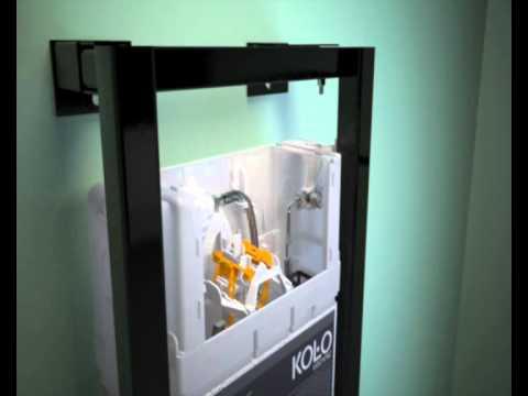 Montaż stelaża podtynkowego do wc Technic