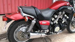4. Yamaha Retro - Yamaha VMax 1988