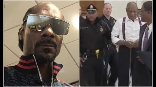 Snoop Dogg Reacts To Bill Cosby's 10 Year Prison Sentence