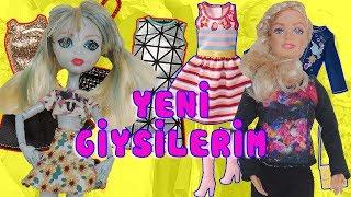 Video Sonsuz Hareketli Barbie ve Monster High Bebeklerime Yeni Kıyafetler | Oyuncak Butiğim MP3, 3GP, MP4, WEBM, AVI, FLV November 2017