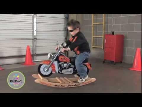 Mecedora Moto Harley Davidson - Kidkraft 10011