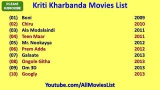 Kriti Kharbanda Movies List