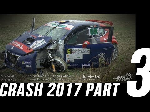 Rally Crash Compilation 2017 - Part 3