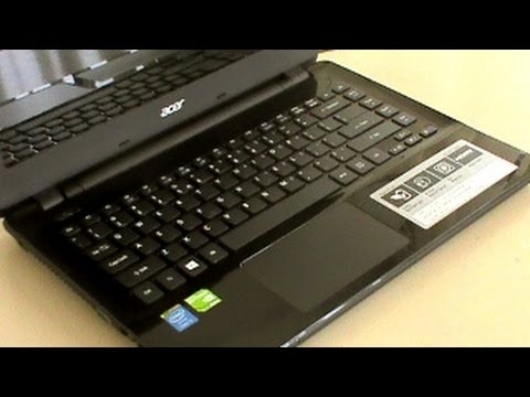 Acer E5-471 Intel Core i3 & i5 Notebook - Unboxing