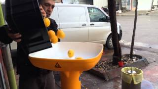 Video Elma Üzüm Limon Nar Sıkma Makinası - Balonlu Pres Tekniği MP3, 3GP, MP4, WEBM, AVI, FLV Desember 2017