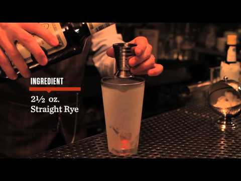 How to Make a Sazerac – Speakeasy Cocktails