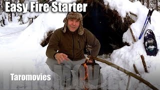 Easy Fire Starter & Rest in the Mountain/HD