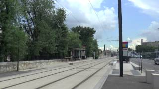 Aubagne France  City pictures : AUBAGNE TRAMWAY FRANCE JUNE 2015