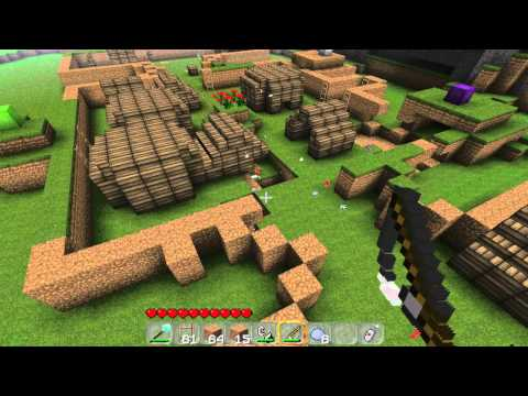 Robbie Plays Minecraft - Clay Soldier War!