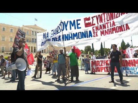 Generalstreik in Griechenland - Protest gegen Sparpolitik