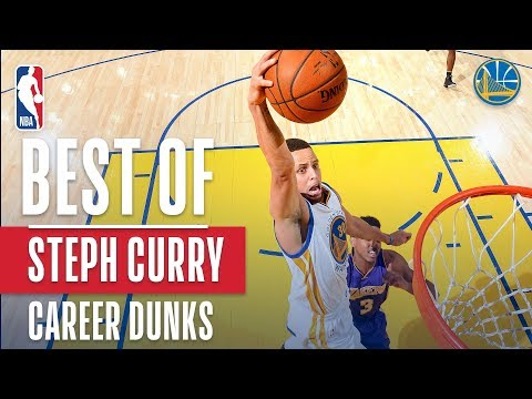 Video: Best Of Stephen Curry's Career Dunks