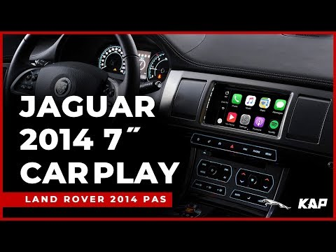 JAGUAR 2014 year 7inch CARPLAY / Android Auto
