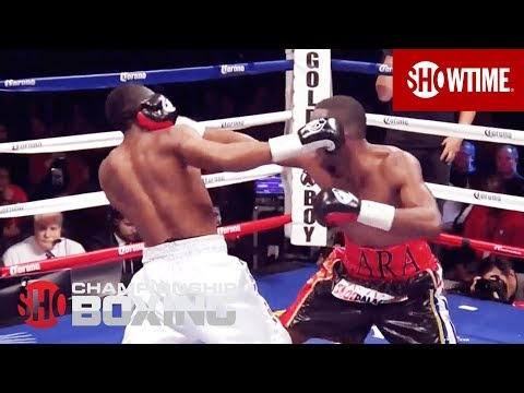 SHOWTIME - Live from the Barclay Center, relive the knockdown of Austin Trout at the hands of Erislandy Lara.