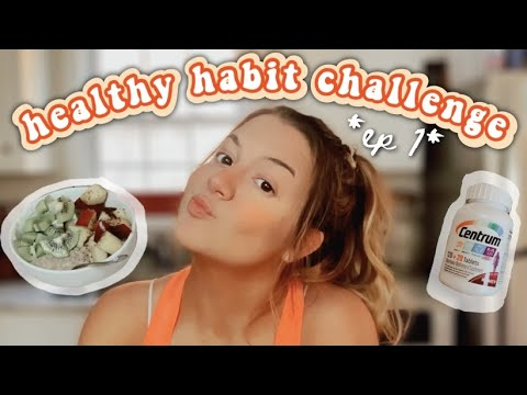 how i'm getting into shape for 2021: 30-day healthy habit challenge *ep 1*... tips, recipes, + inspo