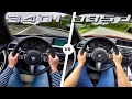 BMW 340i vs 335d ACCELERATION & TOP SPEED POV Autobahn by AutoTopNL