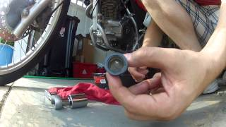 10. 2009 Honda CRF230L Oil Change