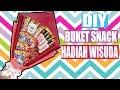 Cara Membuat Buket Snack Simpel