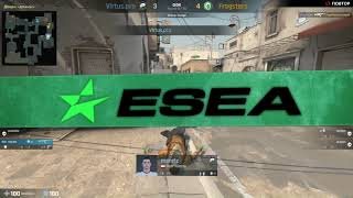 (RU) ESEA MDL Season 29 Europe | Virtus.pro  vs Fragsters  | bo1 | by @c0stajan
