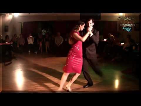 Mariana Patsarika y Dimitris Biskas, de Francia a Buenos Aires en Abrazando Tangos milonga