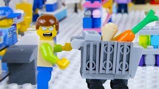 Video LEGO City Shopping Fail STOP MOTION LEGO City with Ellie Sparkles | LEGO City | By Billy Bricks MP3, 3GP, MP4, WEBM, AVI, FLV September 2018