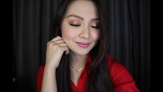 Video My Very First Full-On Glam Make Up Tutorial Using The Bronze Extended Kyshadow Palette MP3, 3GP, MP4, WEBM, AVI, FLV Agustus 2018