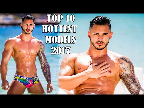 Top 10 Hottest Male Models 2017