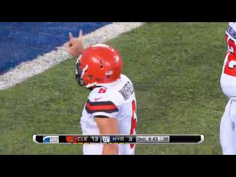 Baker Mayfield's First Touchdown With Browns | NFL Preseason Highlights