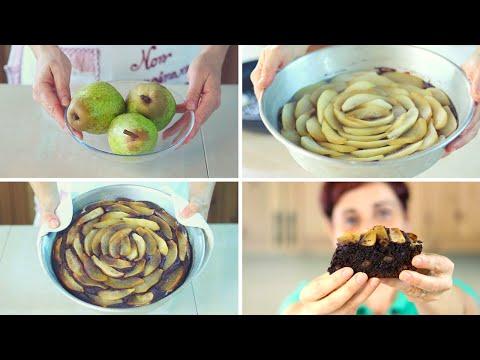 torta soffice pere e cioccolato - ricette