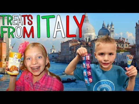 Kids Try Foods from Italy