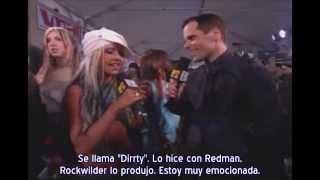 Christina Aguilera - Entrevista + Presentación MTV VMAs 2002 (Subtítulos español)