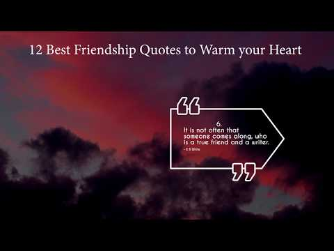 12 Best Friendship Quotes to Warm your Heart in 2019