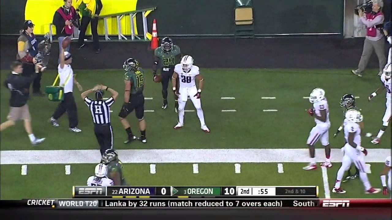 Marcus Mariota vs Arizona (2012)