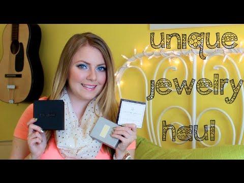 Unique Jewelry Haul ❀