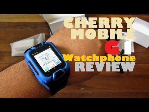 Cherry Mobile G1 Watchphone Review - Phone On Your Wrist With Free Bluetooth Headset For PHP 1,699