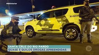 Santa Cruz do Rio Pardo: homem é preso com 5kg de maconha na rodovia